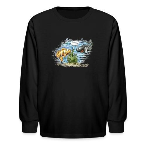 when clownfishes meet - Kids' Long Sleeve T-Shirt