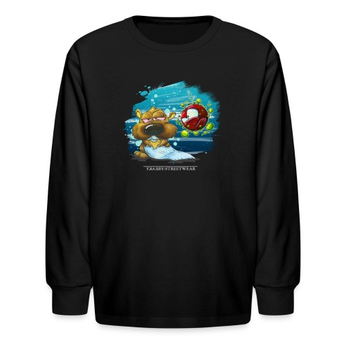 the tragic of life - Kids' Long Sleeve T-Shirt