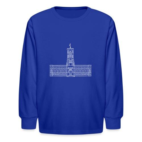 Red City Hall Berlin - Kids' Long Sleeve T-Shirt