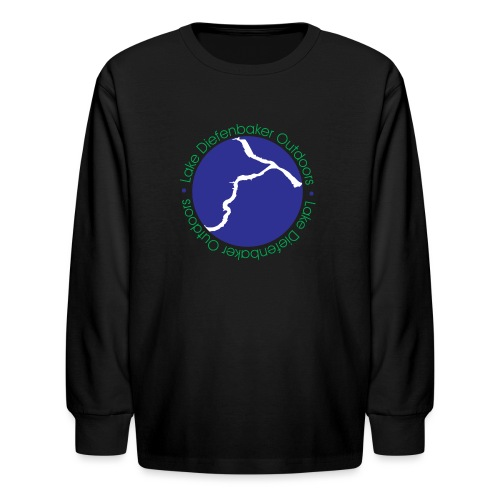 LAKE DIEFENBAKER OUTDOORS - Kids' Long Sleeve T-Shirt
