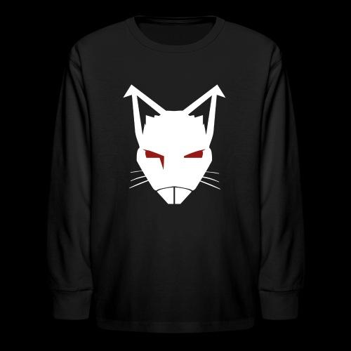RatCrusher (WHITE) - Kids' Long Sleeve T-Shirt