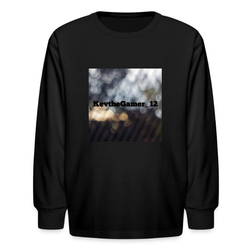 The KevtheGamer_12 store - Kids' Long Sleeve T-Shirt