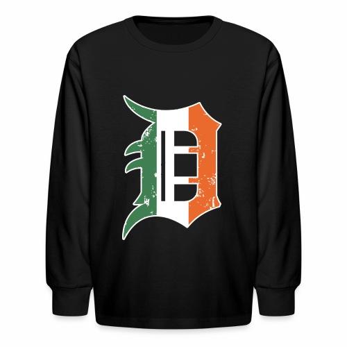 IRISH D - Kids' Long Sleeve T-Shirt