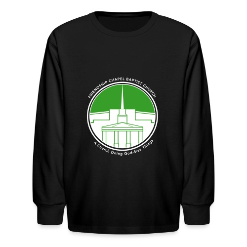 Building art v3color T - Kids' Long Sleeve T-Shirt