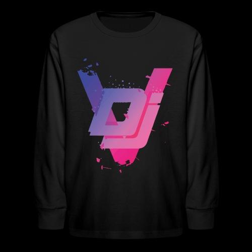 DJ VIRUS INFECTION - Kids' Long Sleeve T-Shirt