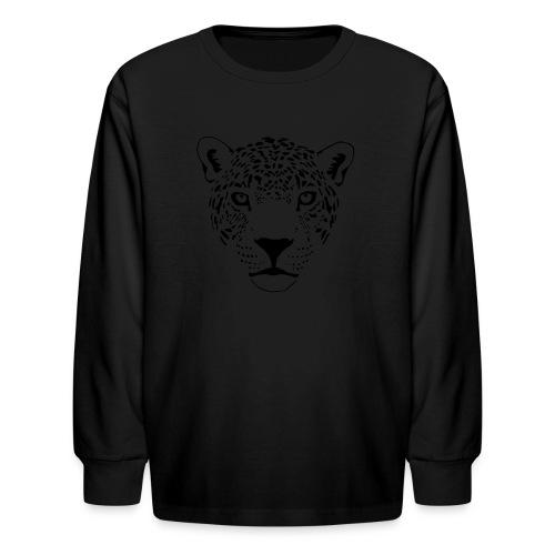 jaguar cougar cat puma panther leopard cheetah - Kids' Long Sleeve T-Shirt