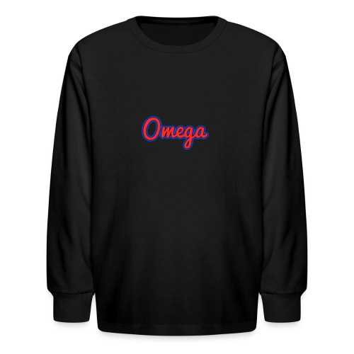 Omega Youth - Kids' Long Sleeve T-Shirt