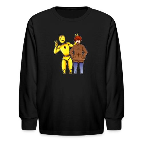 Josh Dummy - Kids' Long Sleeve T-Shirt