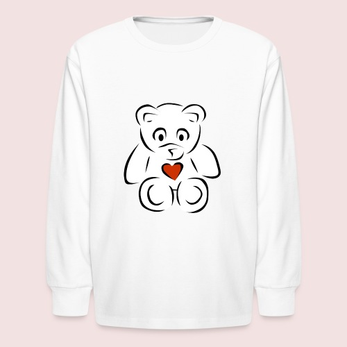 Sweethear - Kids' Long Sleeve T-Shirt