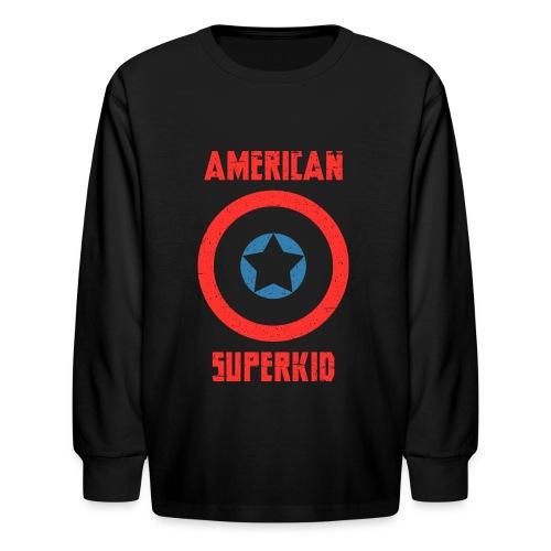 American Superkid - Kids' Long Sleeve T-Shirt