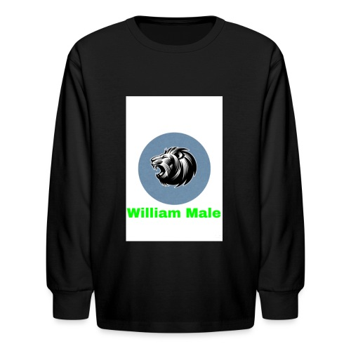 William Male - Kids' Long Sleeve T-Shirt