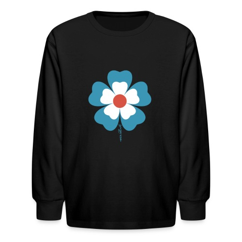 flower time - Kids' Long Sleeve T-Shirt