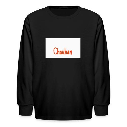 Chauhan - Kids' Long Sleeve T-Shirt