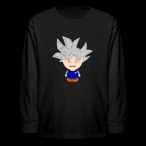 Borbz Ultra Instinct Goku - Kids' Long Sleeve T-Shirt