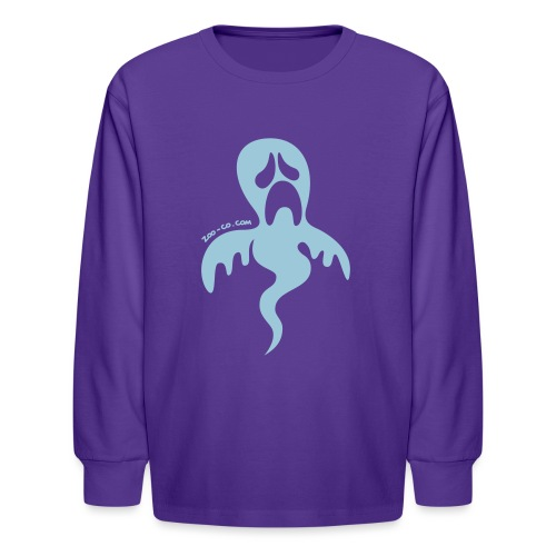 Pitiful Ghost - Kids' Long Sleeve T-Shirt