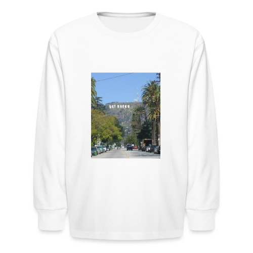 RockoWood Sign - Kids' Long Sleeve T-Shirt