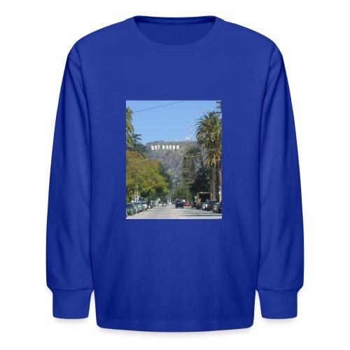 RockoWood Sign - Kids' Long Sleeve T-Shirt