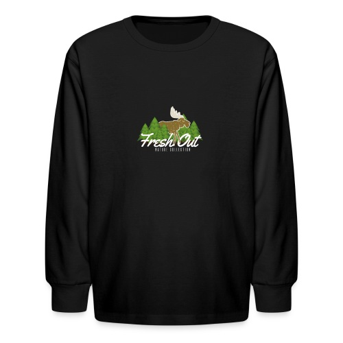 Fresh Out Nature Collection - Kids' Long Sleeve T-Shirt