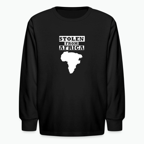 SFA LOGO WHITE - Kids' Long Sleeve T-Shirt