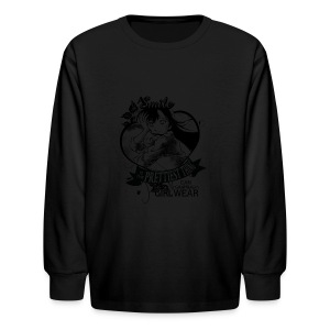 A SMILE is the prettiest thing-Ran Mori - Kids' Long Sleeve T-Shirt