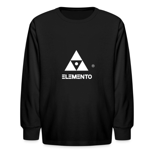 Official logo of ELEMENTO® Arts - Kids' Long Sleeve T-Shirt