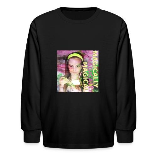 Digital Art - Kids' Long Sleeve T-Shirt