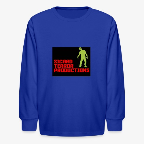 Sicard Terror Productions Merchandise - Kids' Long Sleeve T-Shirt