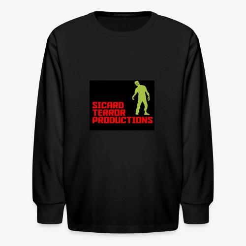 Sicard Terror Productions Merchandise - Kids' Long Sleeve T-Shirt