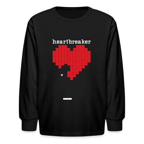 Heartbreaker Valentine's Day Game Valentine Heart - Kids' Long Sleeve T-Shirt
