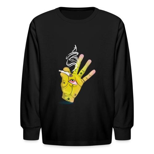 Khalwi High Khamsa - Kids' Long Sleeve T-Shirt
