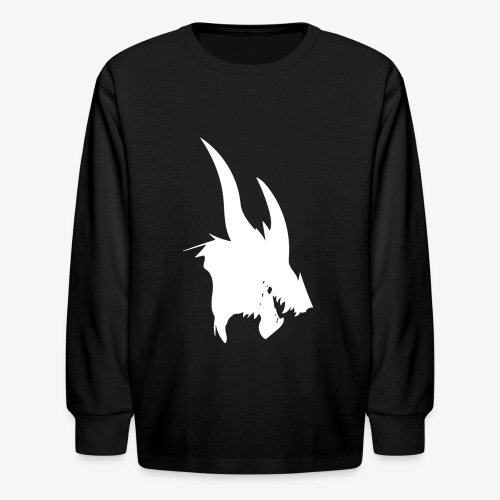 dragon sil - Kids' Long Sleeve T-Shirt