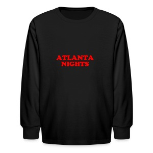 ATL NIGHTS - Kids' Long Sleeve T-Shirt