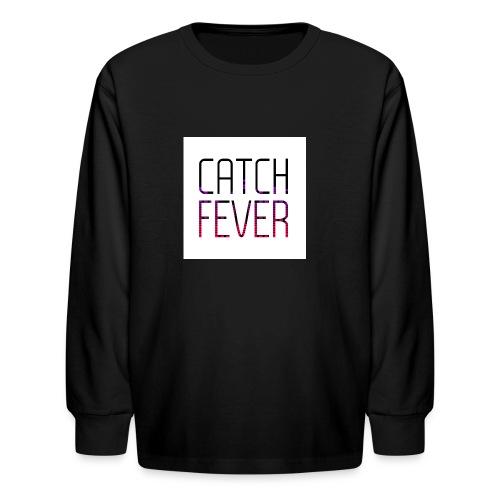 CATCH FEVER 2017 LOGO - Kids' Long Sleeve T-Shirt