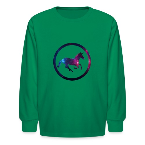 Believe Unicorn Universe 1 - Kids' Long Sleeve T-Shirt