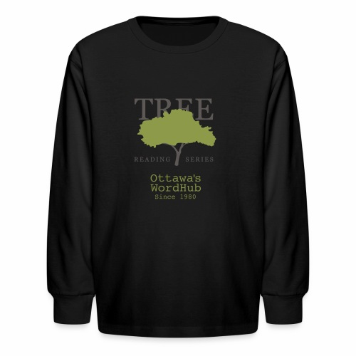 Tree Reading Swag - Kids' Long Sleeve T-Shirt