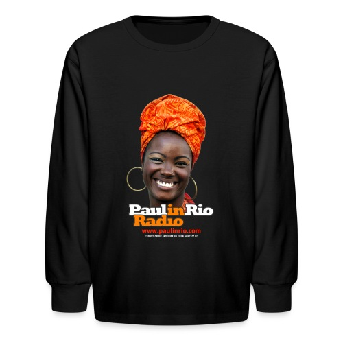 Paul in Rio Radio - Mágica garota - Kids' Long Sleeve T-Shirt