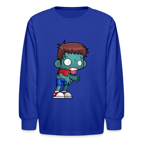 male zombie - Kids' Long Sleeve T-Shirt