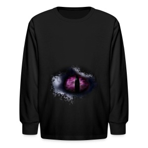 Dragon Eye - Kids' Long Sleeve T-Shirt