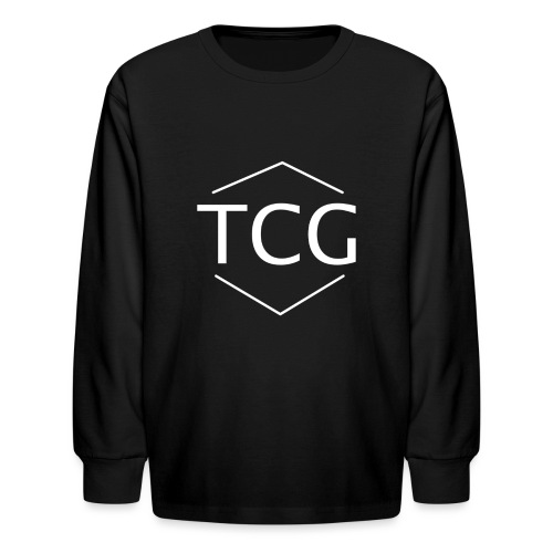 Simple Tcg hoodie - Kids' Long Sleeve T-Shirt
