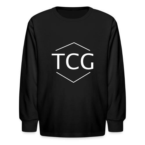 Simple Tcg hoodie - Kids' Long Sleeve T-Shirt