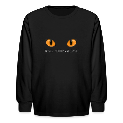 Trap Neuter Release - Kids' Long Sleeve T-Shirt
