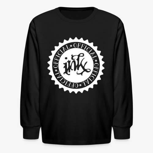 official white - Kids' Long Sleeve T-Shirt