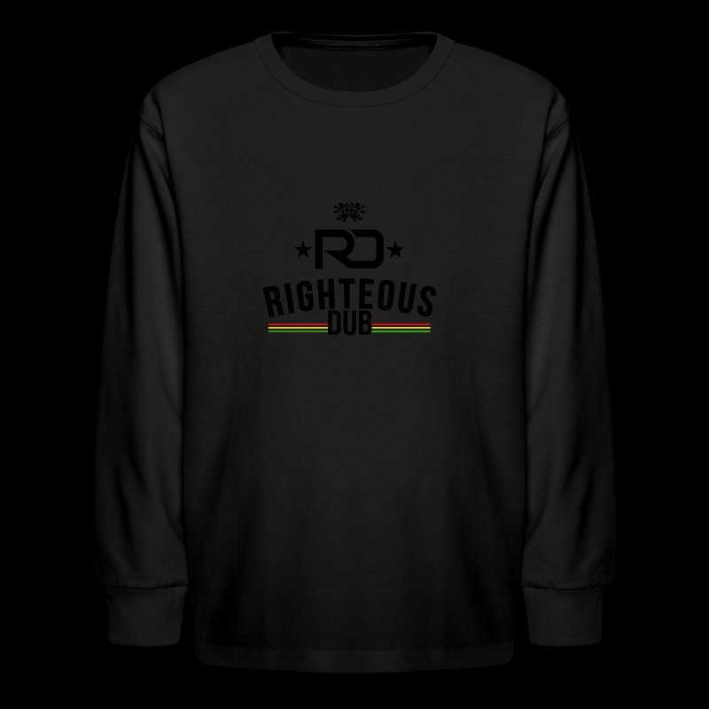 Righteous Dub Logo - Kids' Long Sleeve T-Shirt