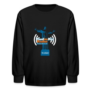 Paul in Rio Radio - The Thumbs up Corcovado #2 - Kids' Long Sleeve T-Shirt
