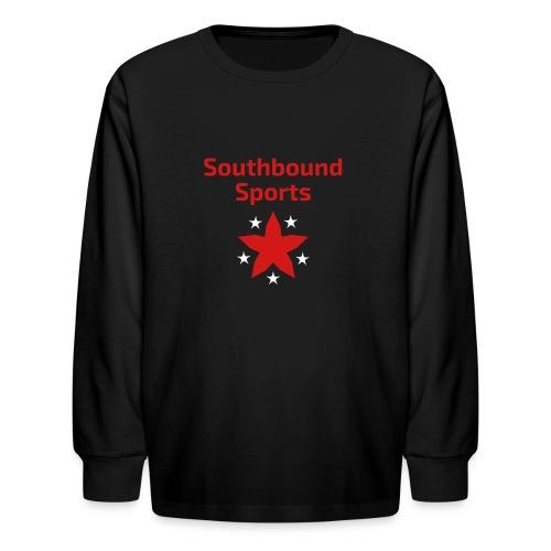 Southbound Sports Stars Logo - Kids' Long Sleeve T-Shirt