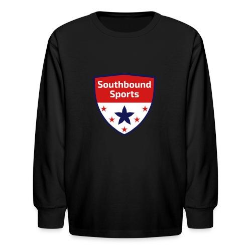 Southbound Sports Crest Logo - Kids' Long Sleeve T-Shirt