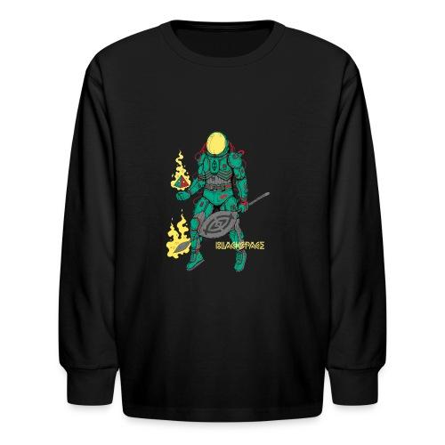 Afronaut - Kids' Long Sleeve T-Shirt