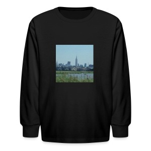 New York - Kids' Long Sleeve T-Shirt