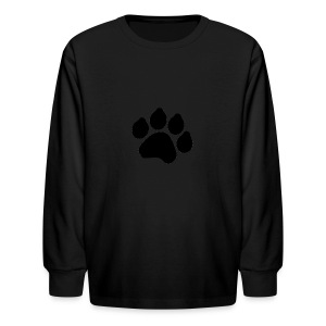 Black Paw Stuff - Kids' Long Sleeve T-Shirt