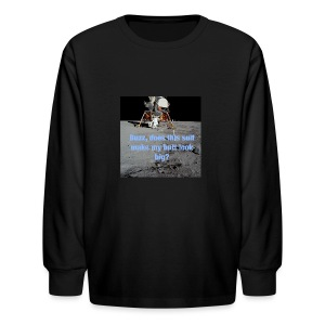 Does this Spacesuit make my butt look big? - Kids' Long Sleeve T-Shirt
